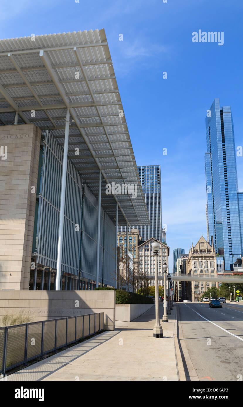 El Instituto de Arte de Chicago, Chicago, Illinois, Estados Unidos de América, América del Norte Imagen De Stock