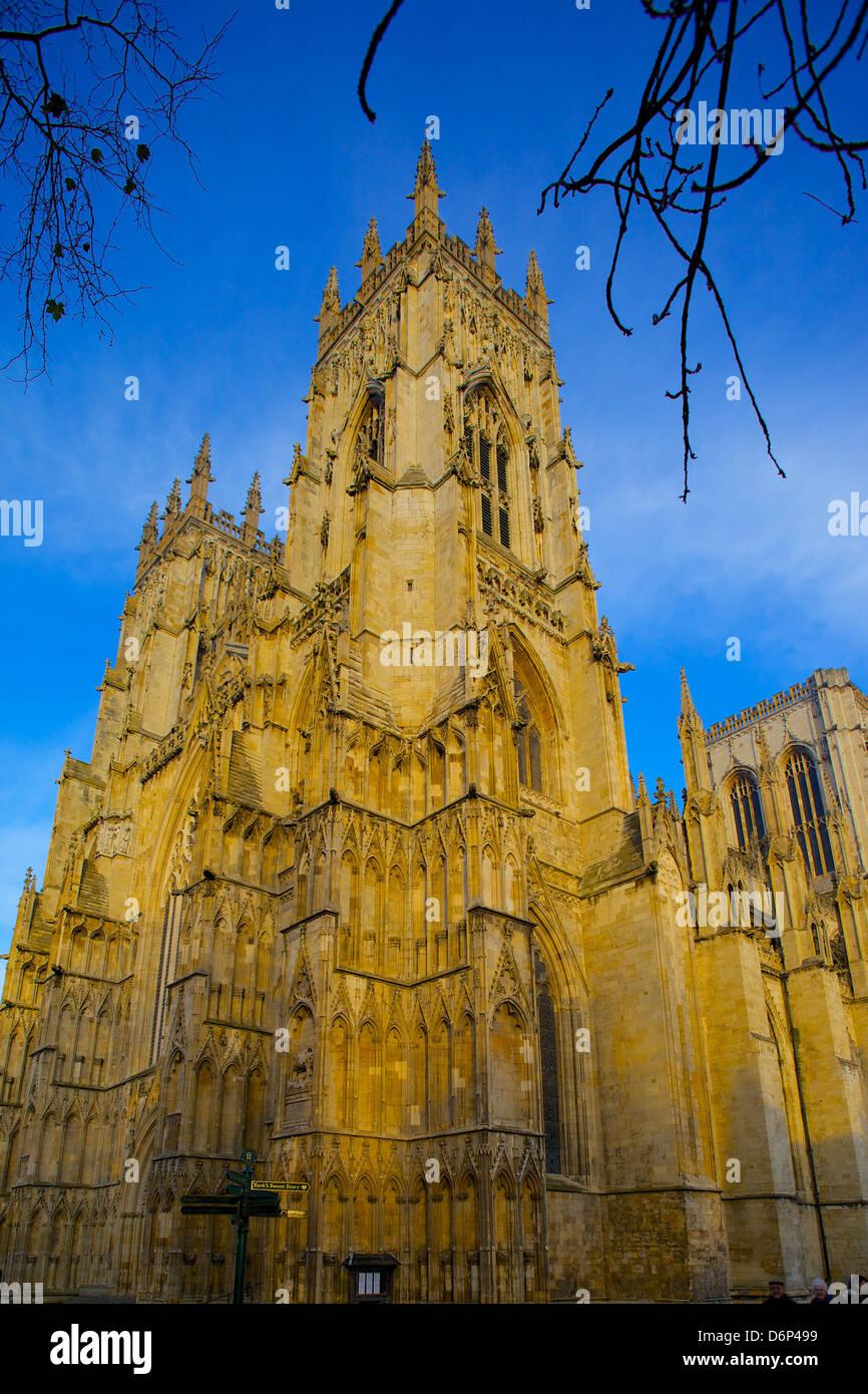 La Catedral de York, York, Yorkshire, Inglaterra, Reino Unido, Europa Imagen De Stock