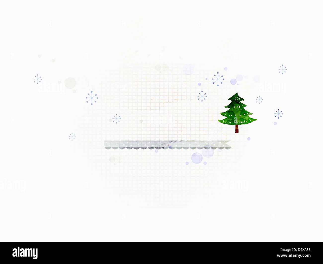 Vistoso Plantilla De Navidad Ppt Friso - Ejemplo De Currículum ...