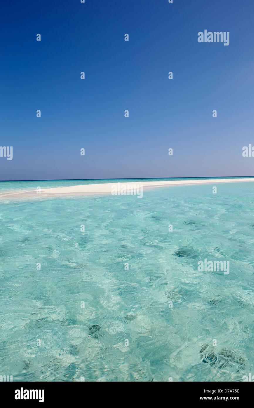 Hermosa playa desierta Foto de stock