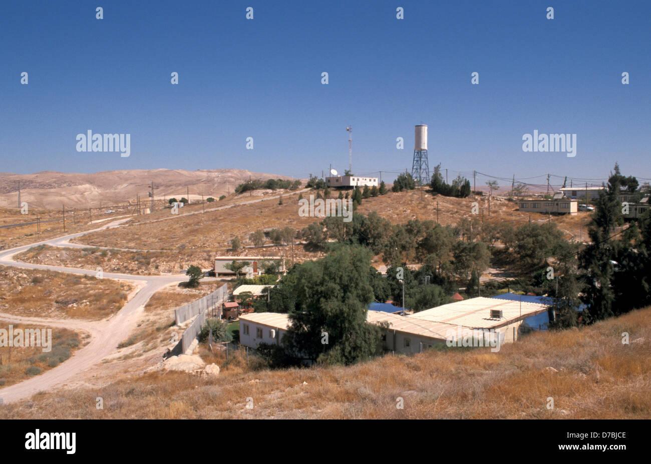 Vista de Alon asentamientos en Judea, 2003 Imagen De Stock