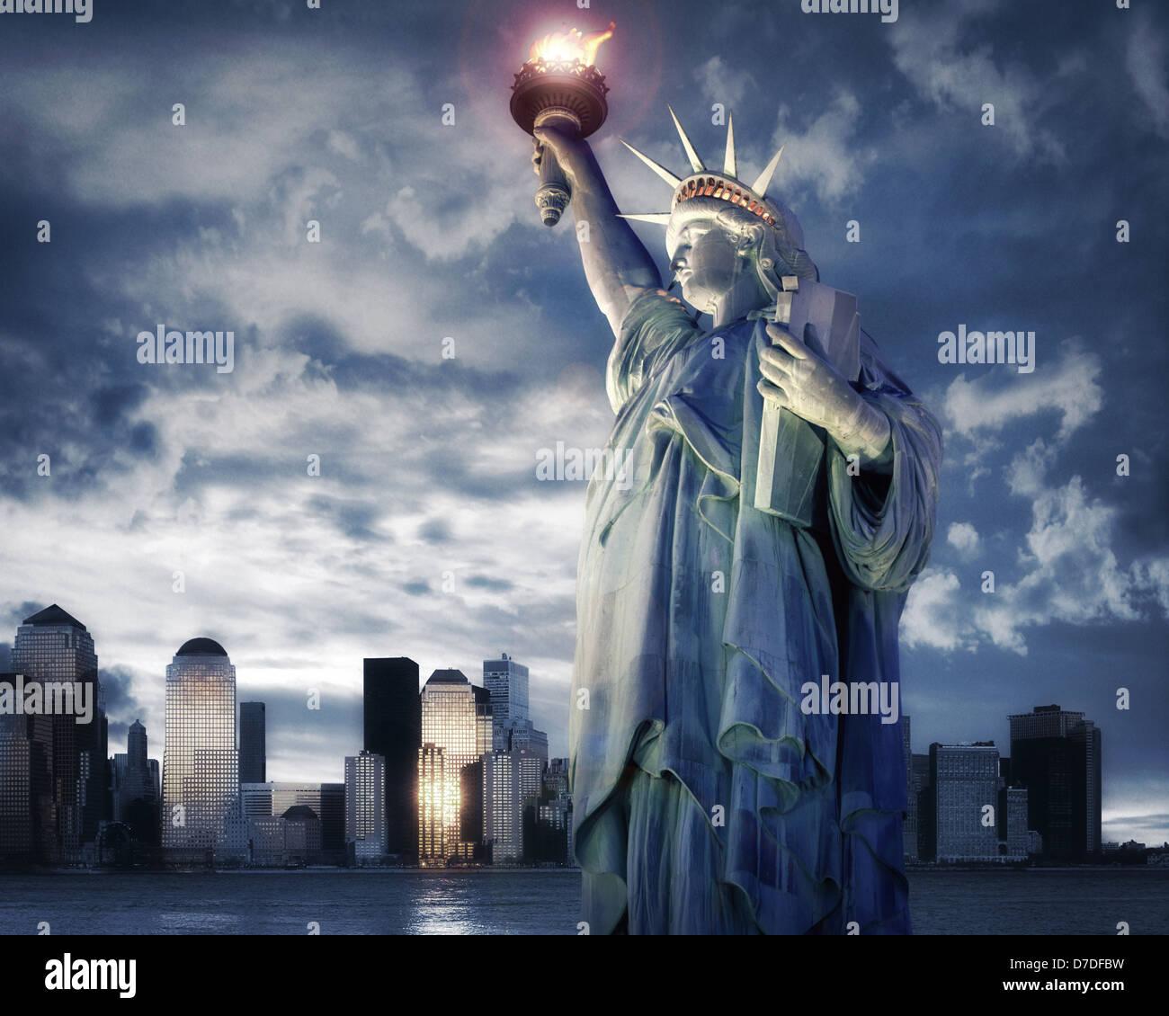 Estados Unidos - NUEVA YORK: Concepto de viaje Imagen De Stock