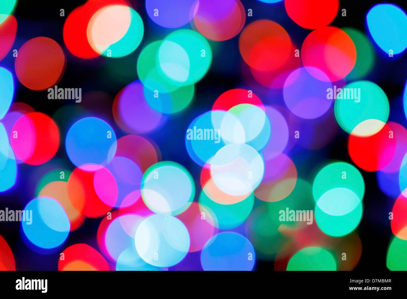 Luces de colores Imagen De Stock