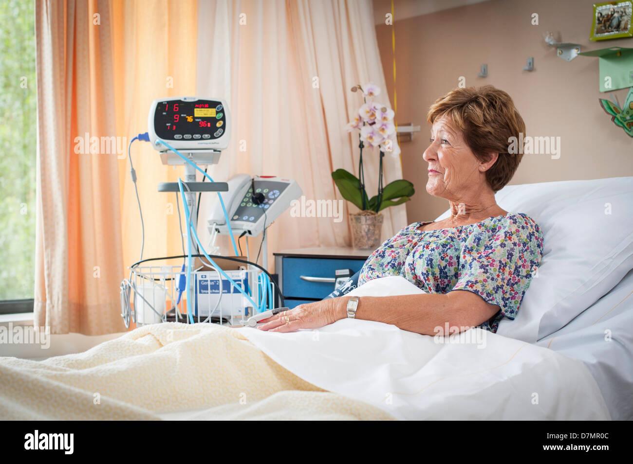 Paciente del hospital Imagen De Stock