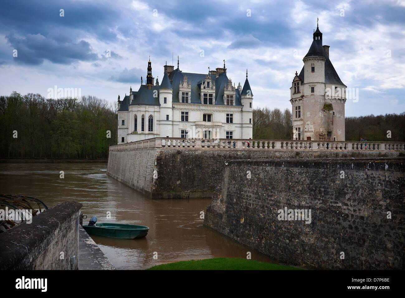 """""""Château de Chenonceau' chenonceau loire Imagen De Stock"""