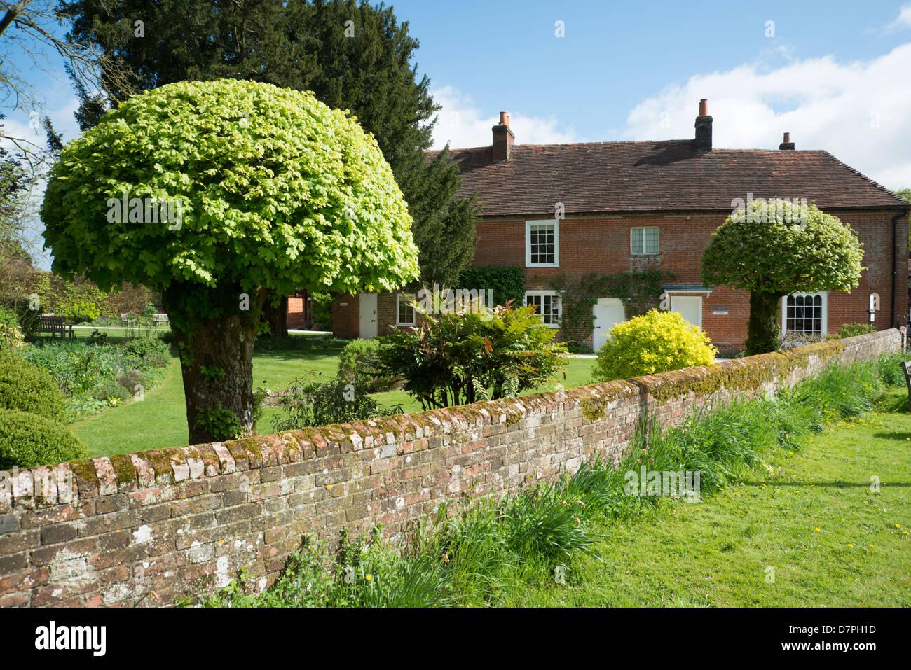 Jane Austen Chawton Hampshire Imagen De Stock