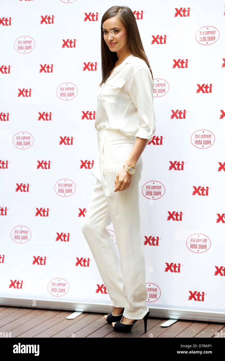 f23cdaa5 Modelo Irina Shayk asiste a una presentación de la nueva colección de  calzado Xti en Hospes Hotel. Madrid, 10.05.2013/Picture Alliance
