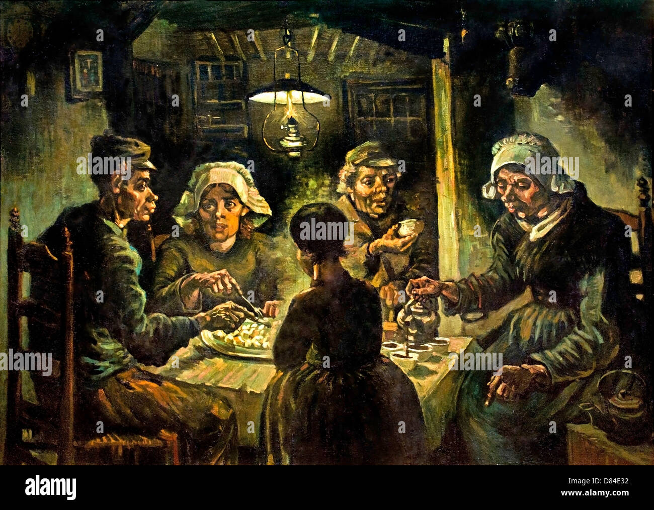 Los comedores de patatas. 1885. Realismo Vincent van Gogh 1853 ...