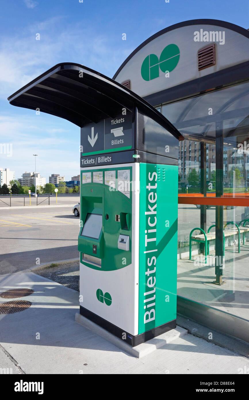 Vaya tránsito Venta de entradas, máquina expendedora de billetes Imagen De Stock