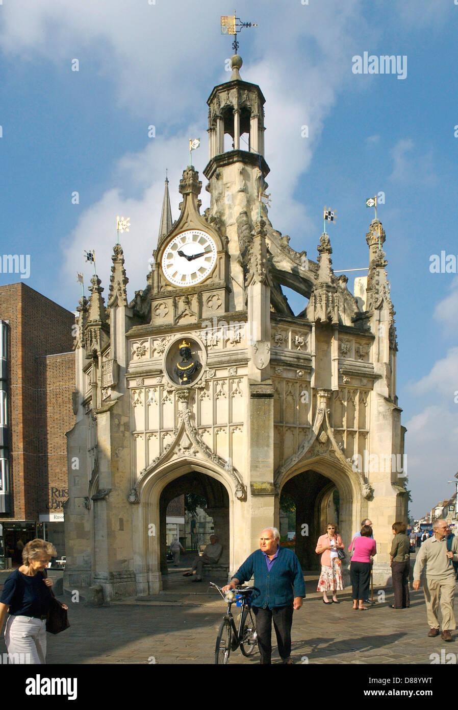 Antiguo mercado Cruz Cruz de la ciudad de chichester West Sussex Imagen De Stock