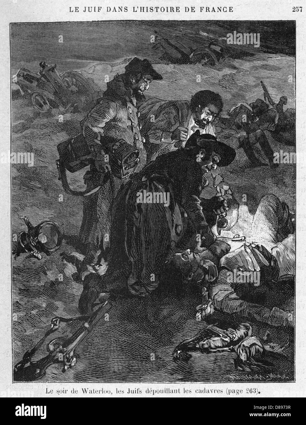 Los judíos de Waterloo Imagen De Stock