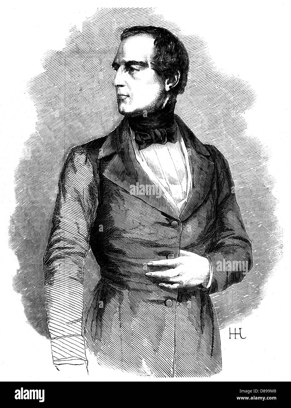 Karl Ludwig Baron Bruck Foto de stock