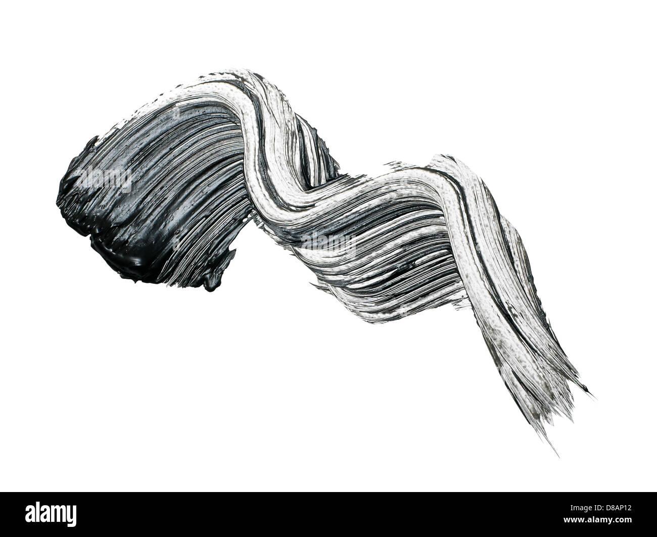 Barrido de mascara recortar sobre un fondo blanco. Imagen De Stock