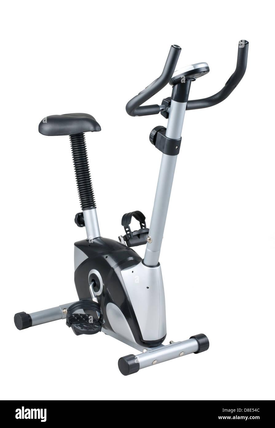 Bicicletas para uso de máquinas de ejercicio en el gimnasio o en casa Imagen De Stock