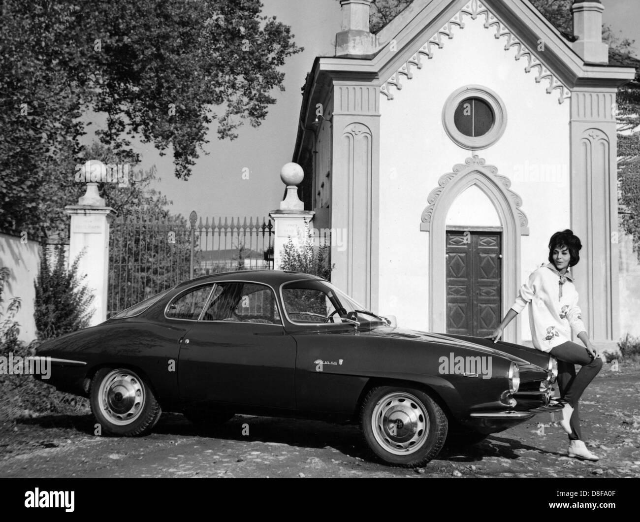 1965 Alfa Romeo Giulia Sprint Speciale Imagen De Stock