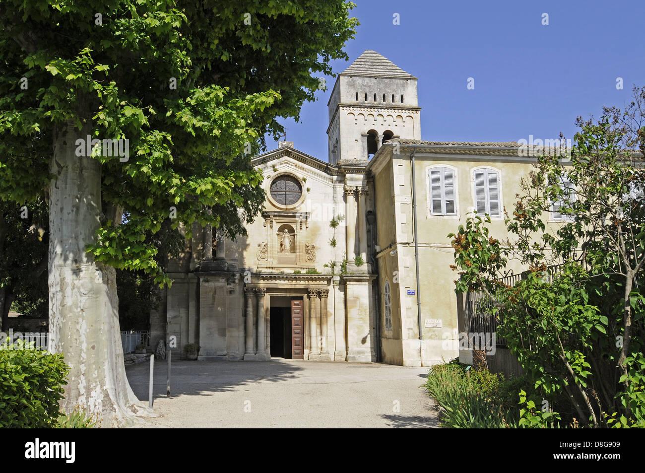 Saint Paul de Mausole monasterio Foto de stock