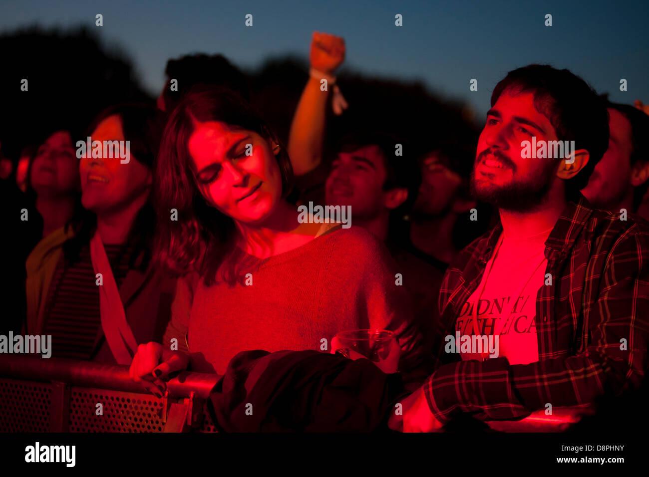 Optimus Primavera Sound Festival, en Oporto, Portugal. Foto de stock