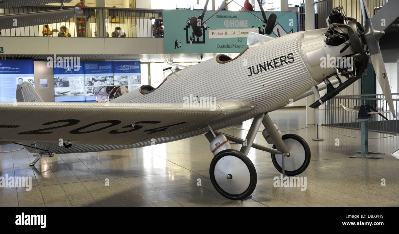 Los Junkers A50 era un avión deportivo alemán de 1930, también llamado el A50 Junior. A50D-2054 de Imagen De Stock