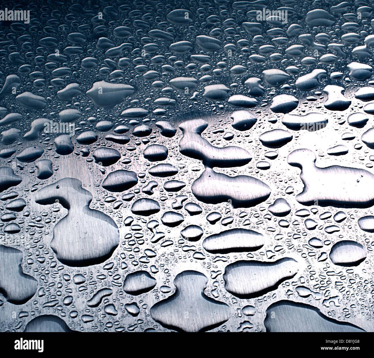 gotas de agua Imagen De Stock