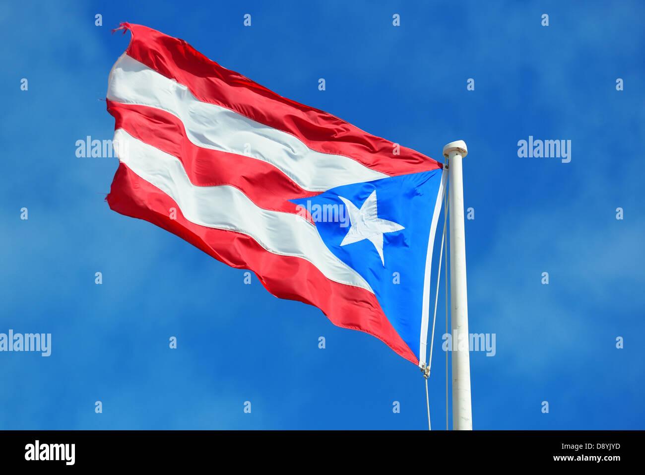 Flag of puerto rico im genes de stock flag of puerto - Volar a puerto rico ...