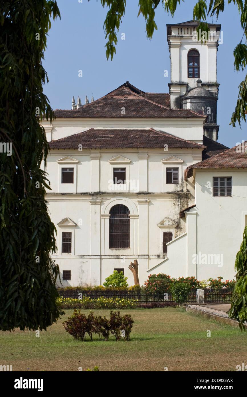 Asia, India, Goa, la Vieja Goa,Se (Catedral de St.Catherine's) Foto de stock
