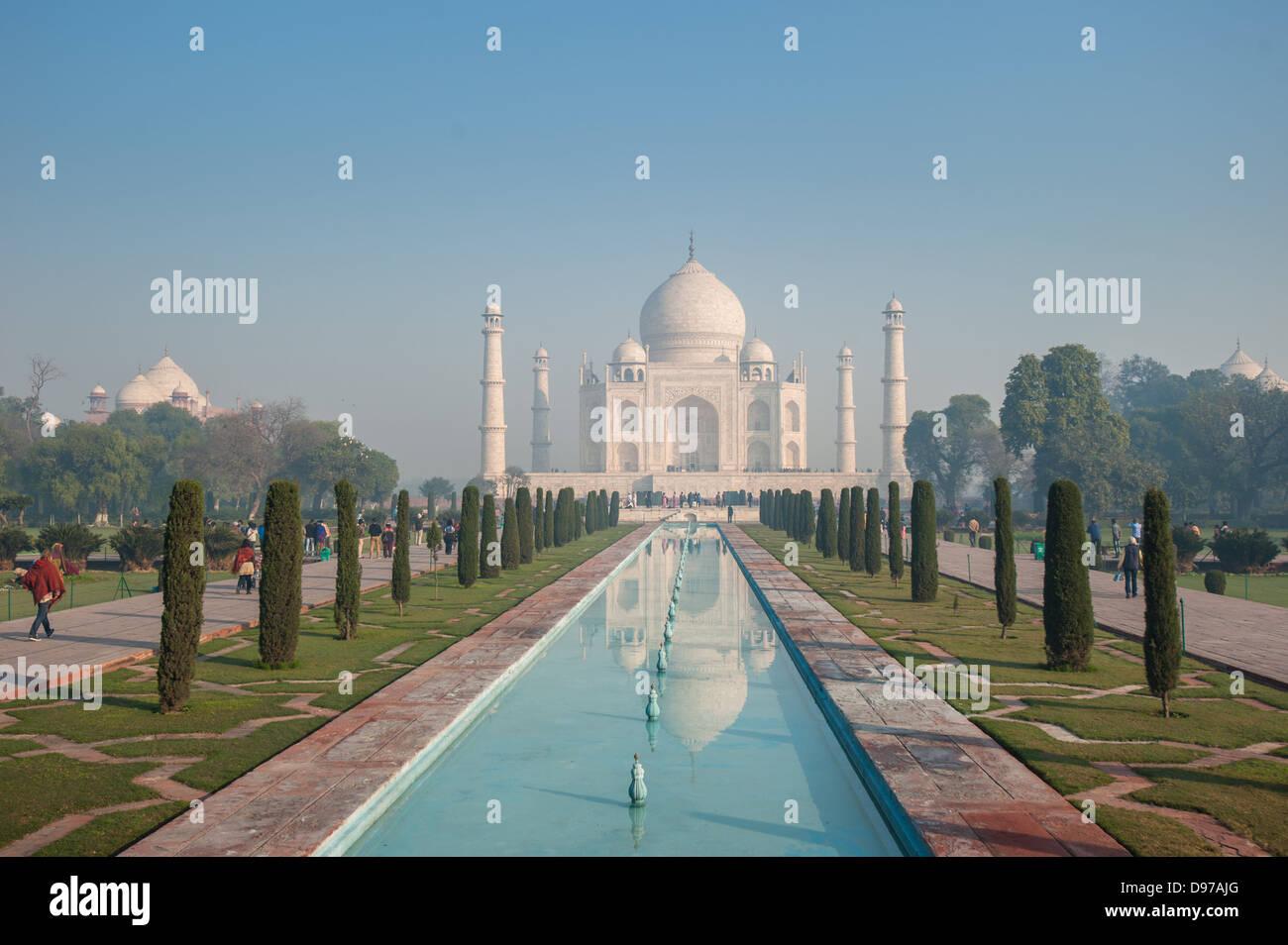 Taj Mahal, Agra, India Foto de stock