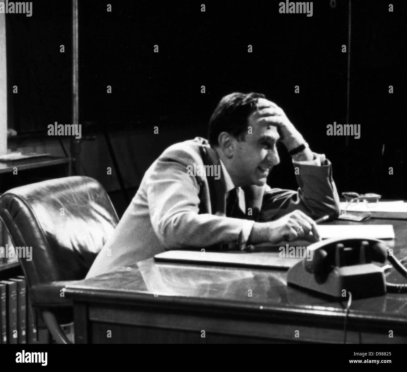 Edward Teller (15 de enero de 1908 - 9 de septiembre de 2003) fue un húngaro-americano nacido físico teórico, Imagen De Stock
