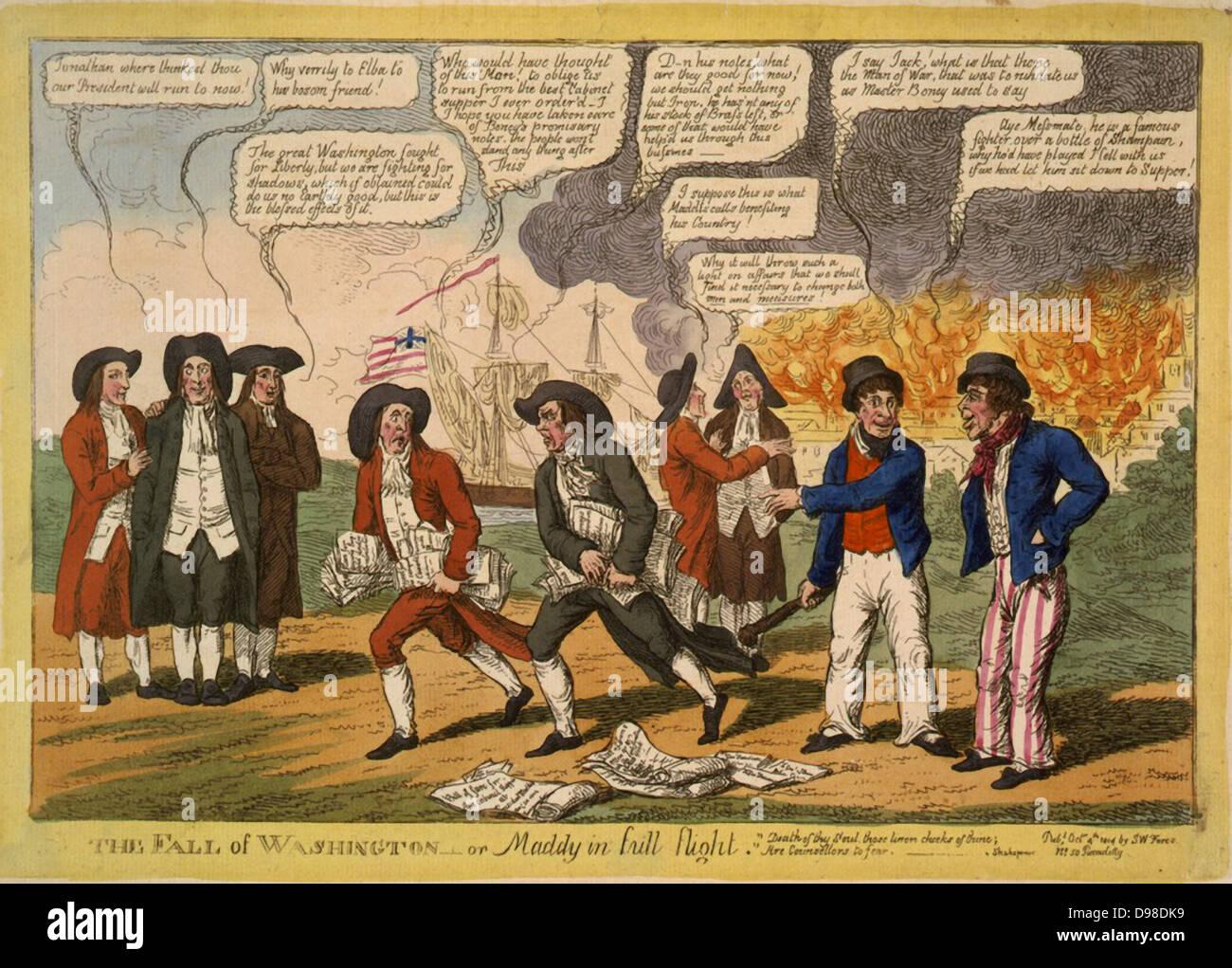 1812 Cartoon Imágenes De Stock & 1812 Cartoon Fotos De Stock - Alamy