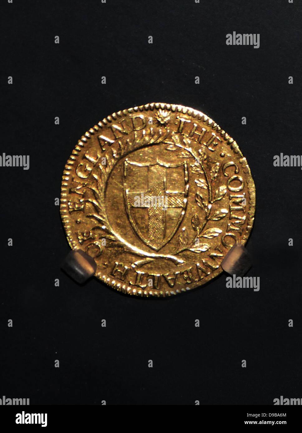 Medalla de Sir James Harrington, 1653. Sir James Harrington o Harington, 3º Baronet de Ridlington (30 de diciembre Foto de stock
