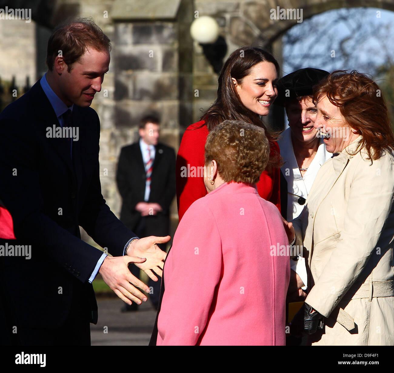 Kate Middleton St Andrews Imágenes De Stock & Kate Middleton St ...
