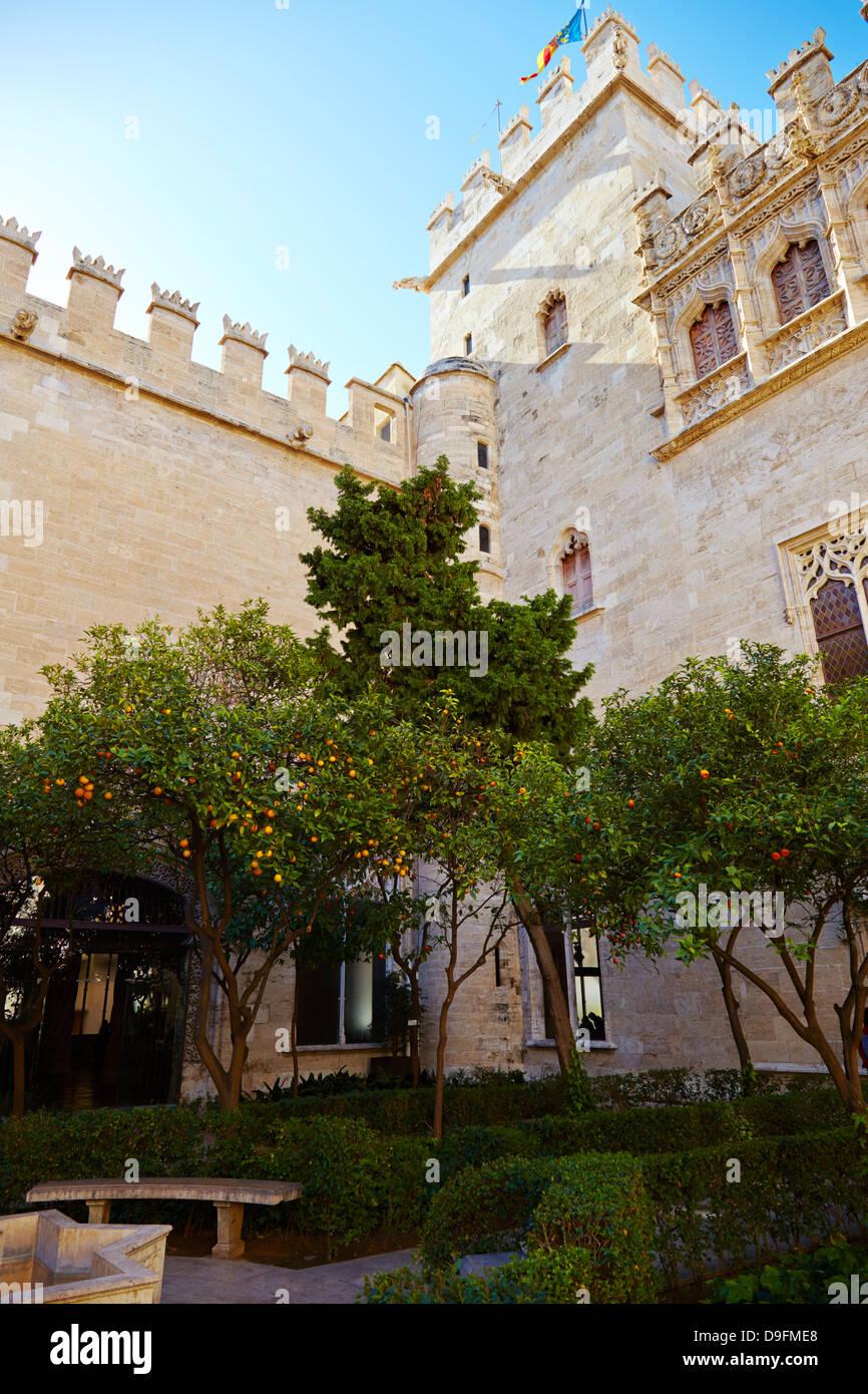 Antiguo Mercado de Seda, Valencia, España Imagen De Stock