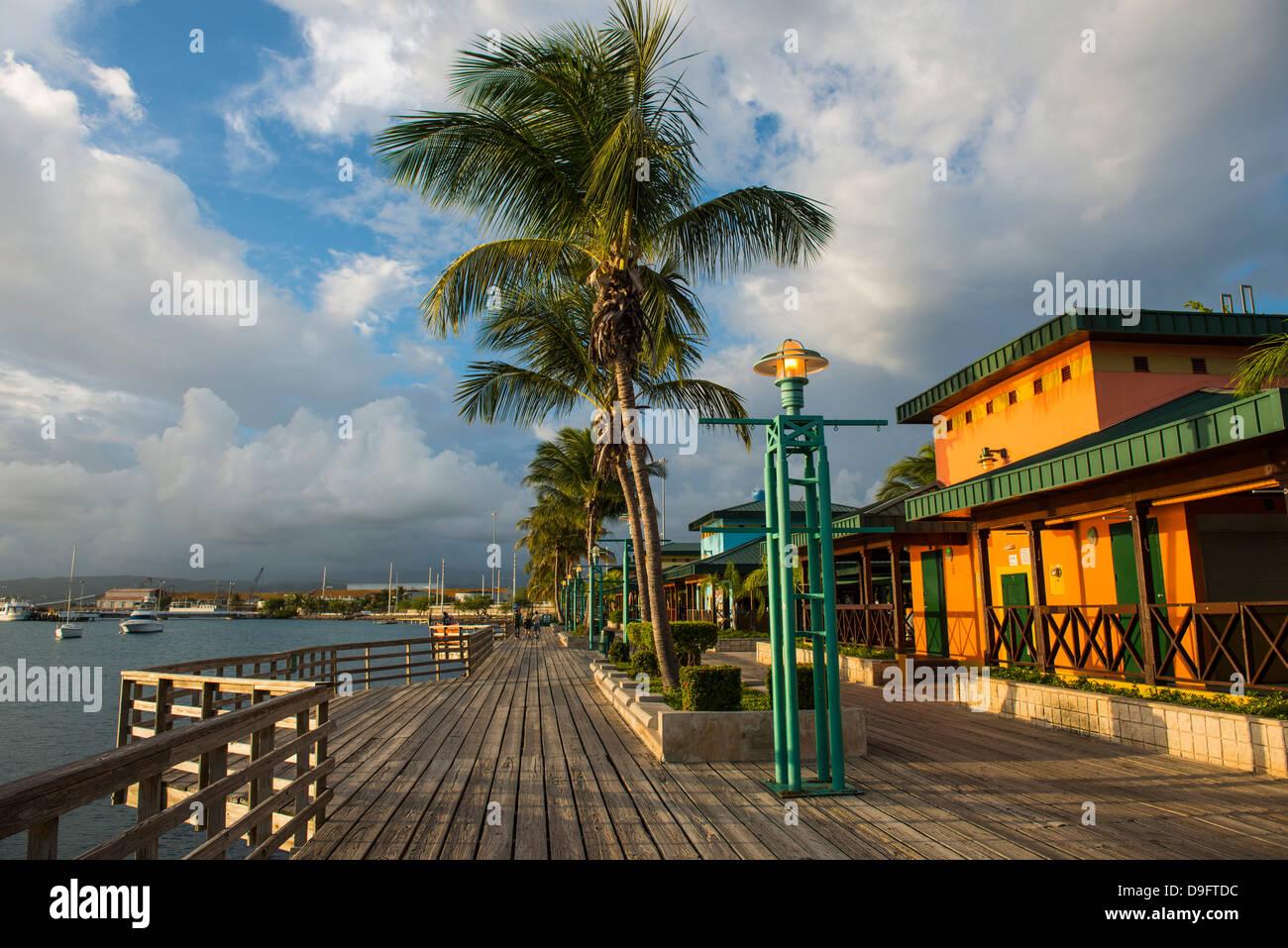 El puerto de Ponce, Puerto Rico, Antillas, Caribe Imagen De Stock