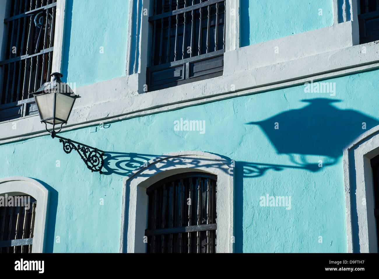 Casco antiguo de la ciudad de San Juan, Sitio del Patrimonio Mundial de la UNESCO, Puerto Rico, Antillas, Caribe Imagen De Stock
