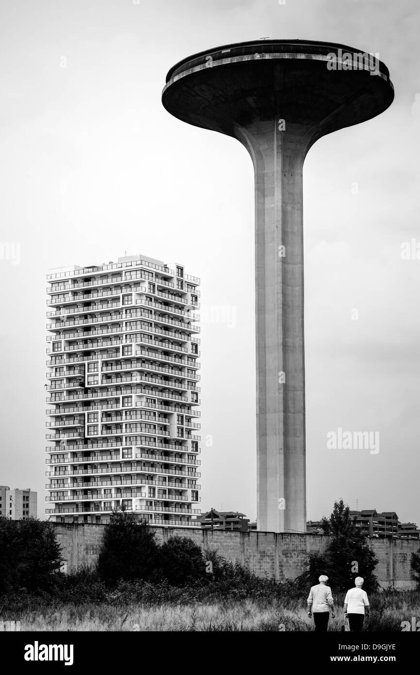 Torre del agua Foto de stock