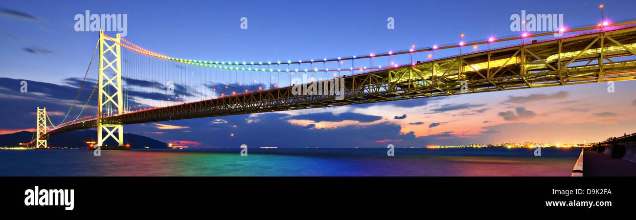 Puente de la perla en Kobe, Japón. Foto de stock