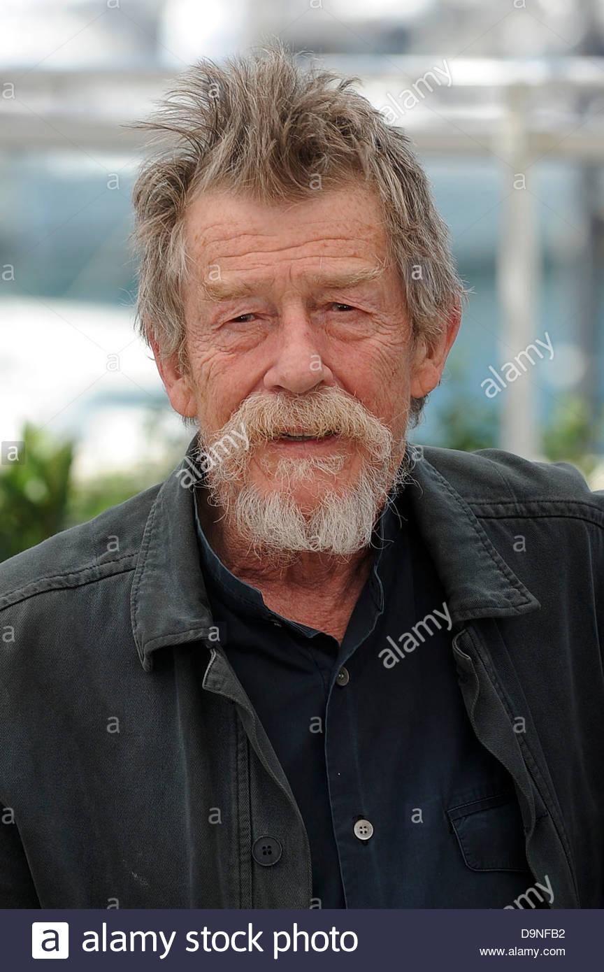 John Hurt,66° Festival di Cannes Imagen De Stock