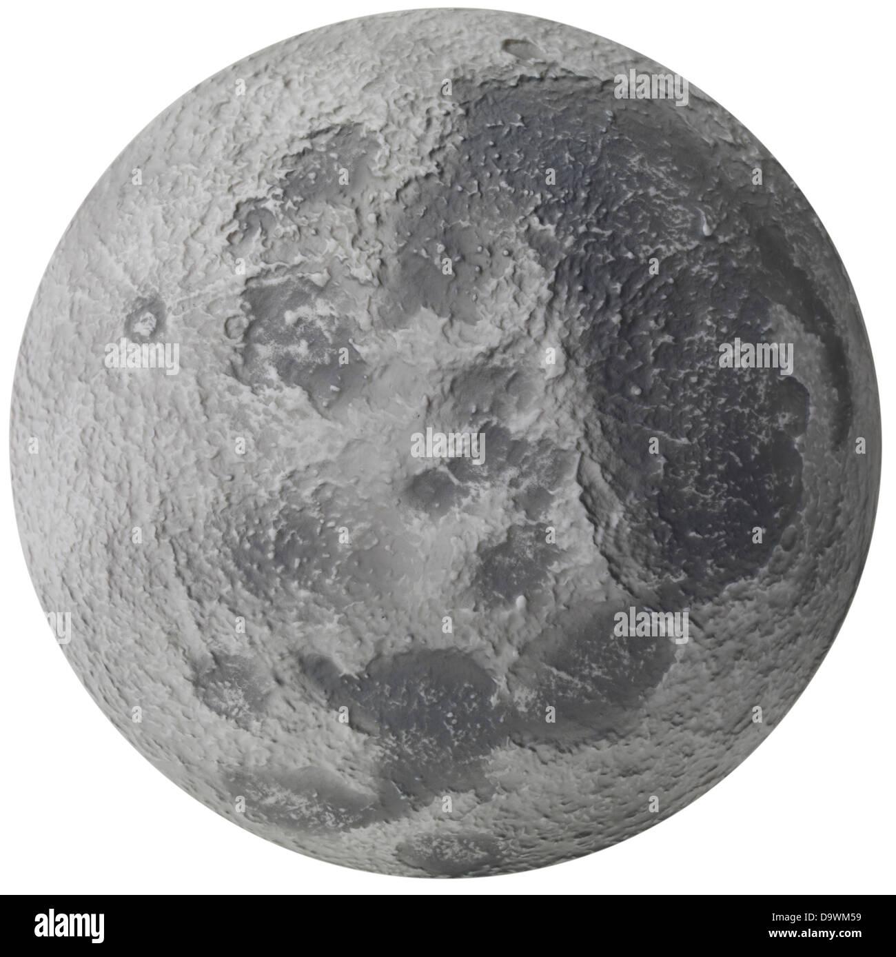 La superficie de la luna Imagen De Stock