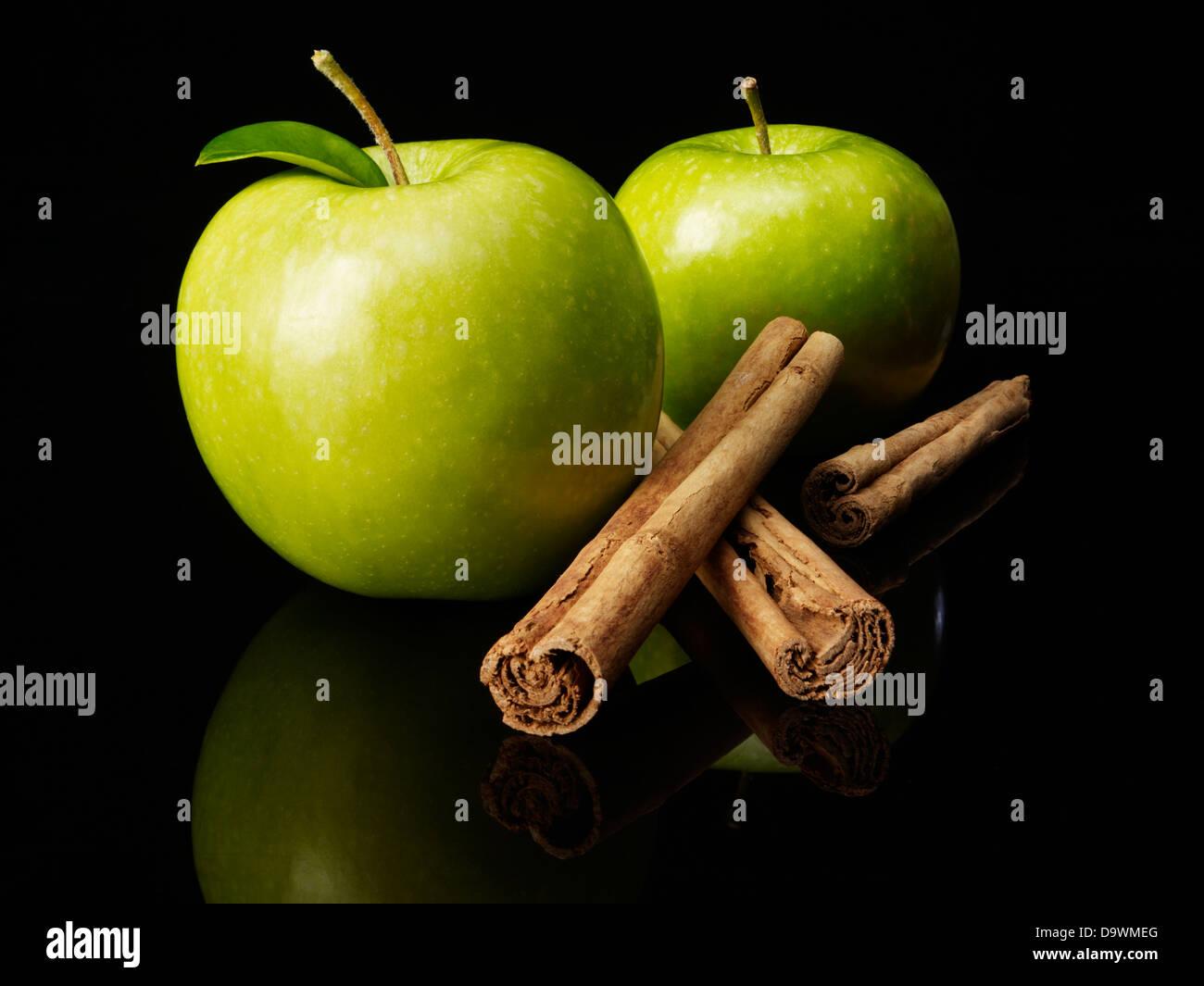 manzana verde Imagen De Stock