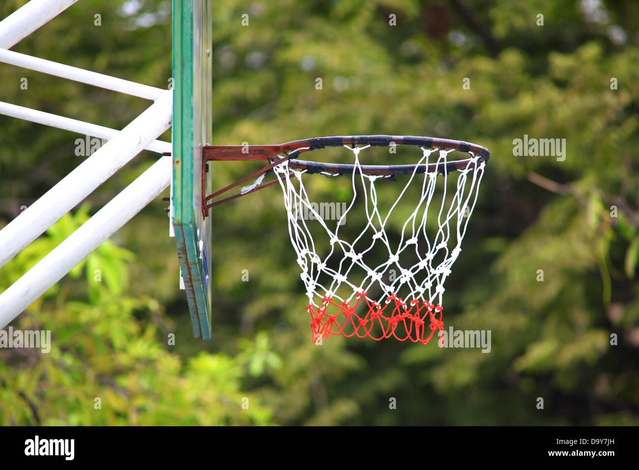 aro de baloncesto Imagen De Stock