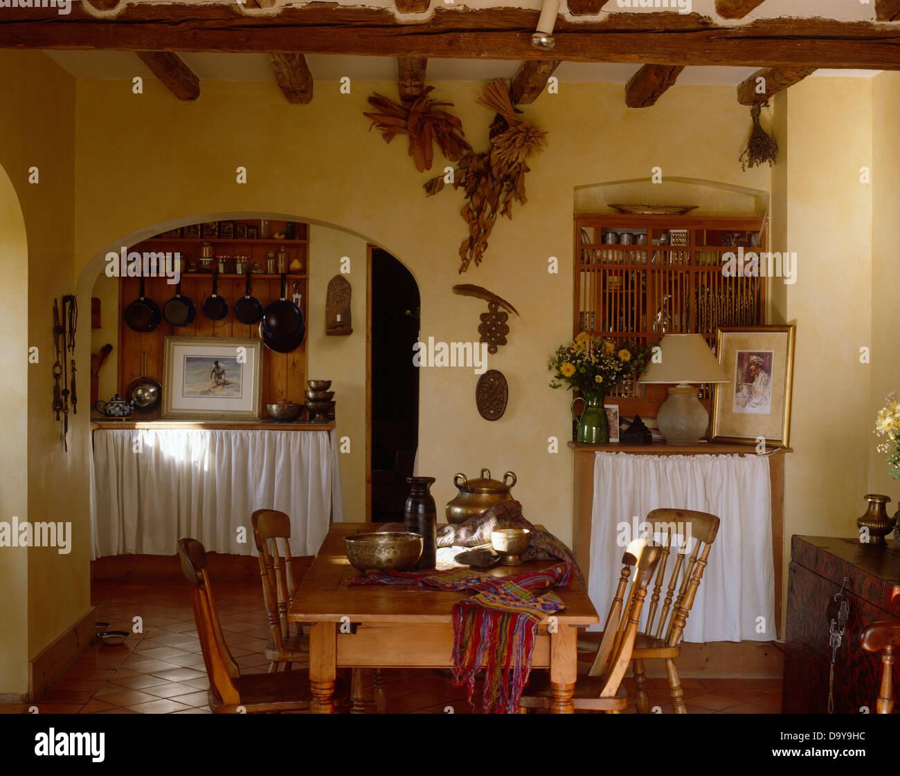 Hermosa Muebles De Cocina Comedor País Componente - Ideas de ...