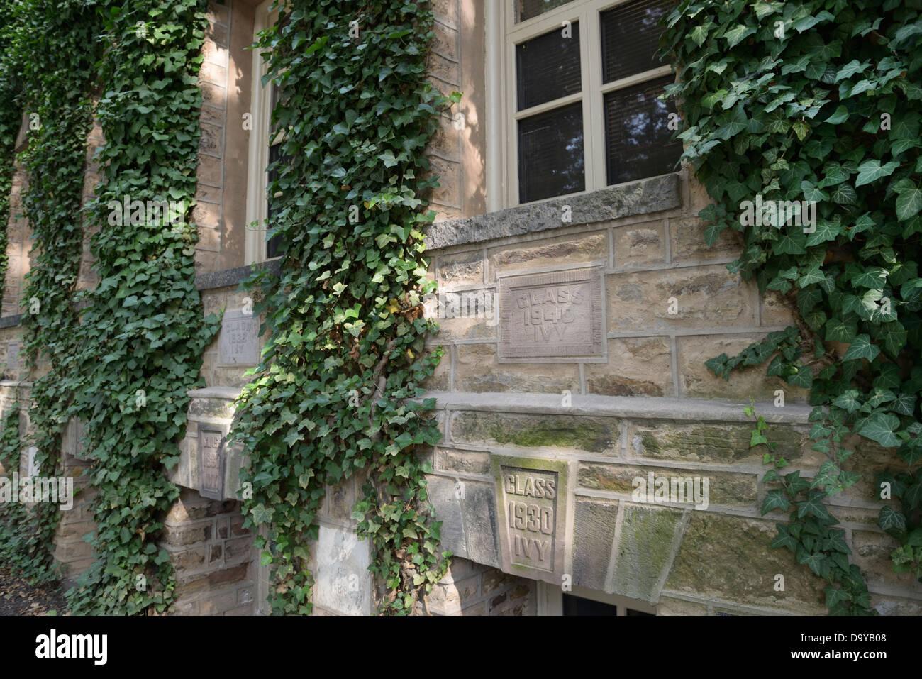 Nassau Hall, de la Universidad de Princeton Imagen De Stock