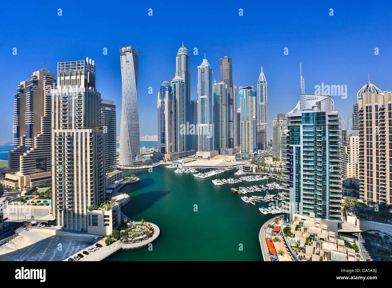 Emiratos rabes unidos eau dubai ciudad dubai marina - Eau arquitectura ...
