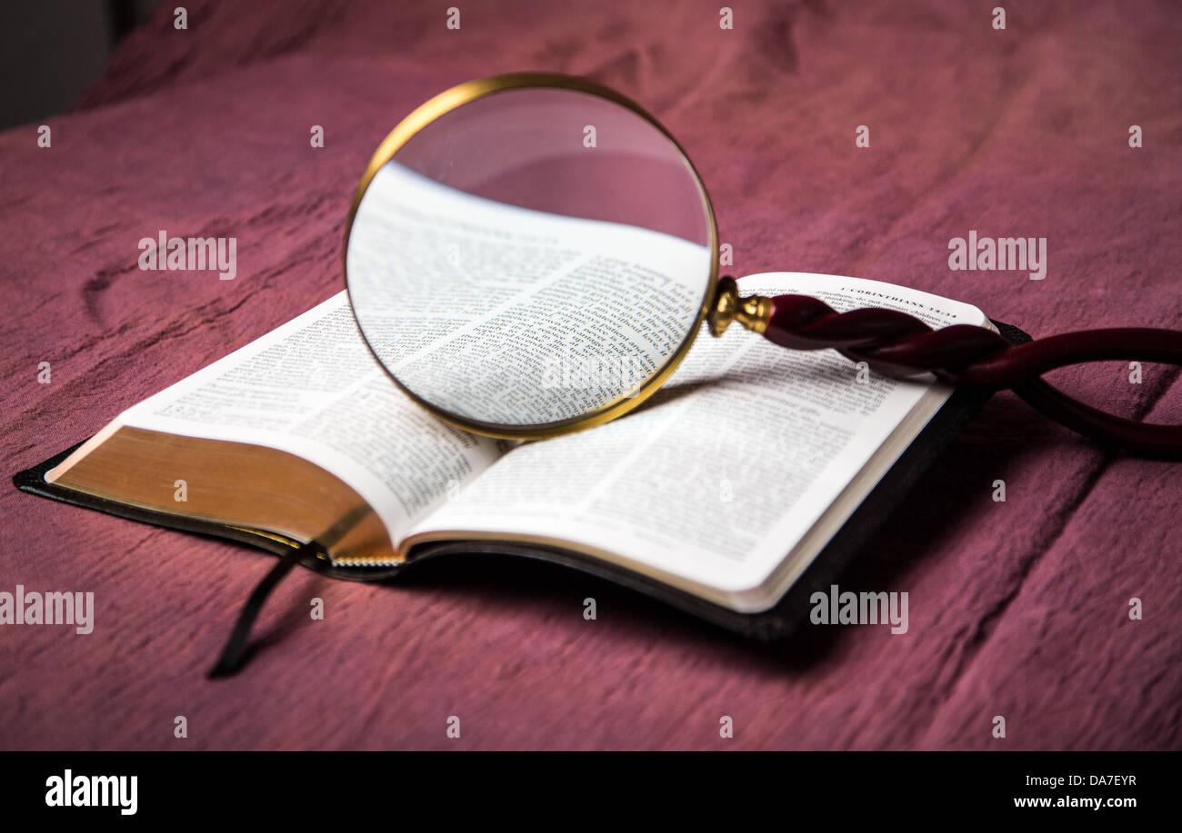 Un Biblias Adornados Con Páginas Abiertas A La Clásica Boda