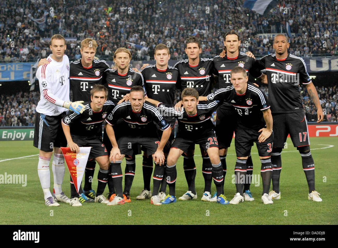 98cc31eff0bf0 El equipo del FC Bayern de Múnich se reúne para una foto de grupo antes de