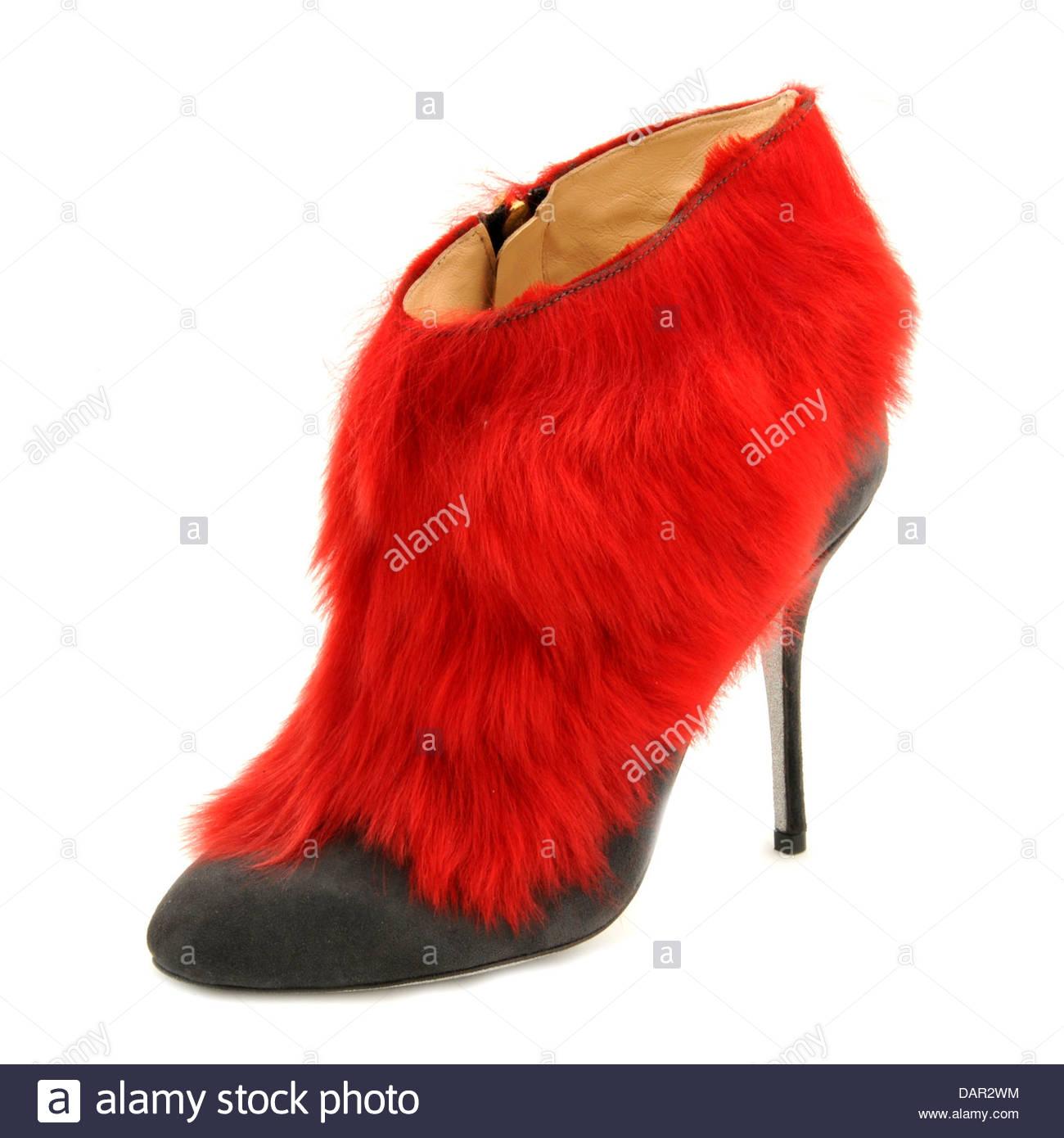 Los zapatos de Alberto Moretti. Foto de stock
