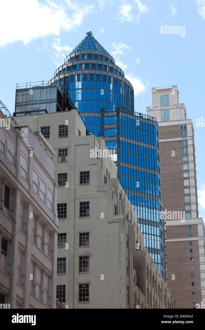 La arquitectura en la Ciudad de Nueva York Imagen De Stock