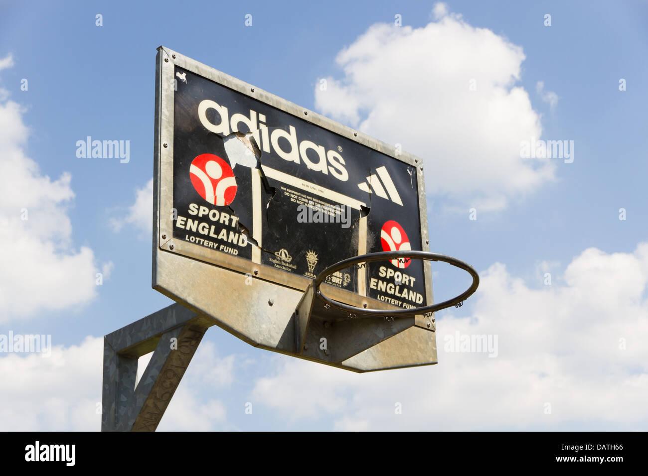 Un pozo Baloncesto net Imagen De Stock