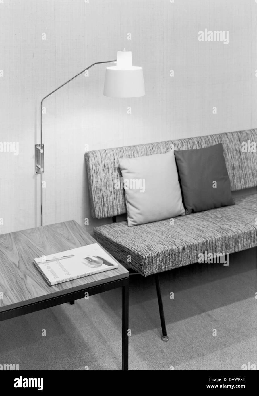 Muebles, salón, 1960, 1960s, 60s, siglo xx, histórico, histórico ...