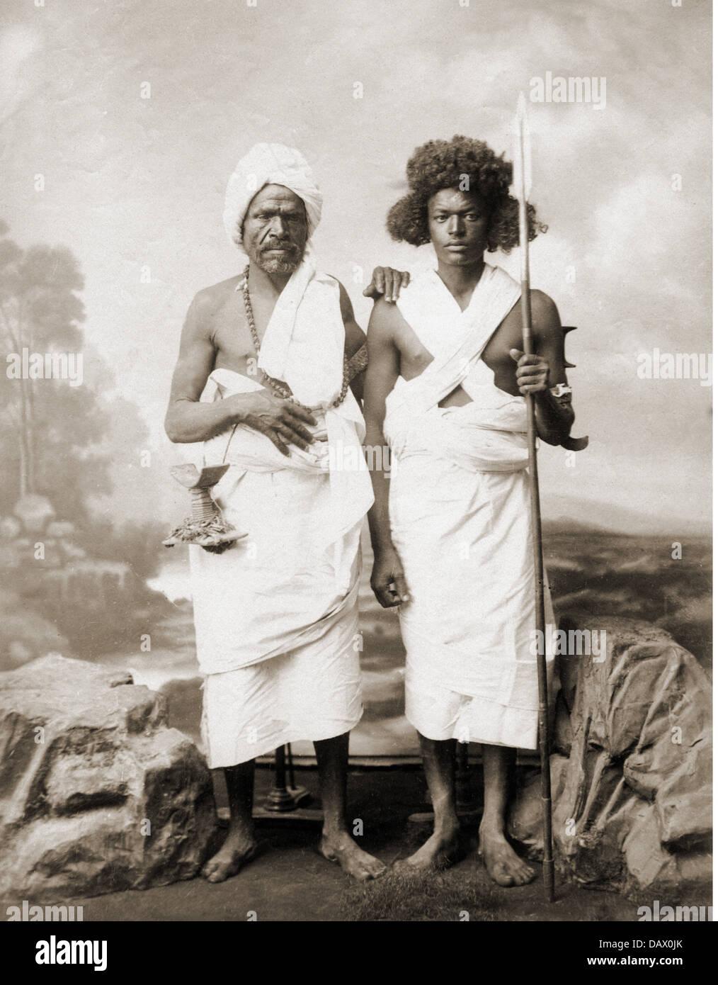 Geografía / viajes, Sudáfrica, Sudán, gente, guerreros de la zona de Suakin, Foto de estudio, de Imagen De Stock