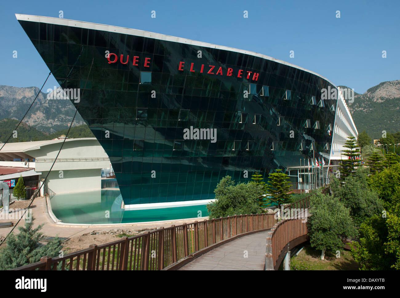 Türkei, Göynük bei Kemer, Queen Elizabeth Elite Suite Hotel & Spa Imagen De Stock